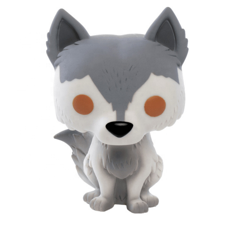 FUNK POP GAME OF THRONES GHOST Wolf Nymeria 10cm Action Figure Toys 2019 kids toys new
