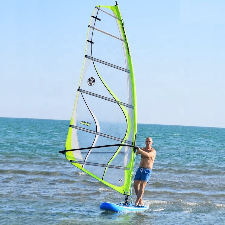 10' factory manufacture custom Windsup ISUP sail wavestorm wind surf surfboard inflatable sup stand up paddle windsurf board