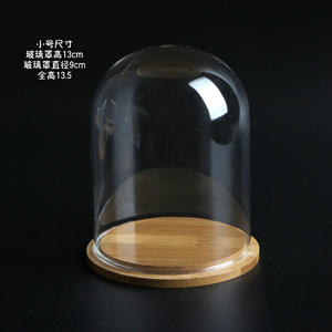 Wholesale Transparent Glass Cloche Bell Jar Display Dome
