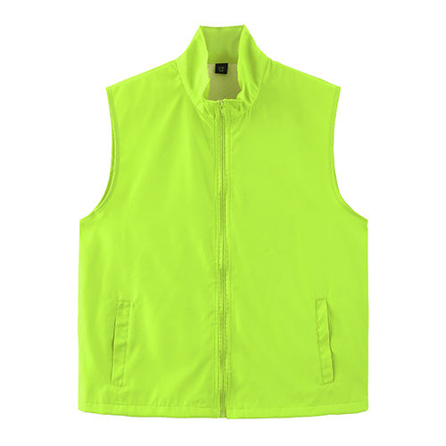 Colorful Fashion Breathable Men Mesh Vest Custom Polyester Sleeveless Work Volunteer Supermarket Promotional Vest With Any Logo