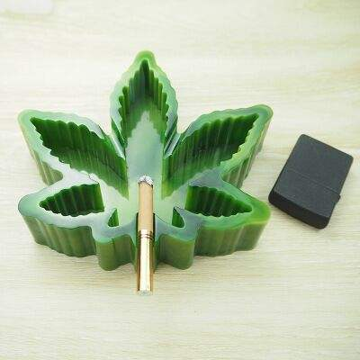 DIY Maple Leaf Ashtray Resin silicone Mold for Home
