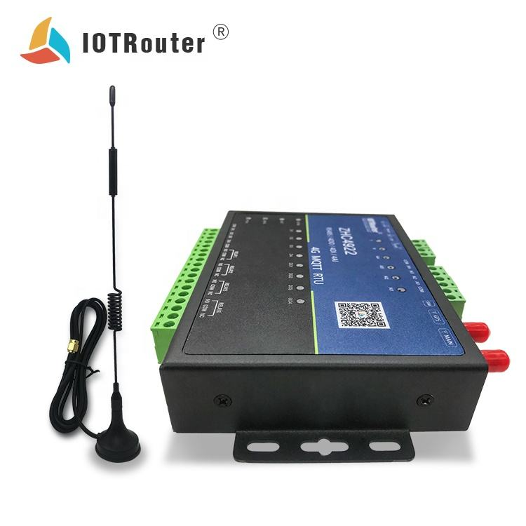 4g LTE Antenna MQTT Modbus Protocol DTU rs232/rs485 Module Port to Ethernet Gprs and GPS RTU Converter ZHC4922 IOT Router 172
