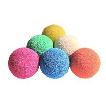 0.48-8 inch custom soft hard sponge rubber condenser pipe cleaning ball