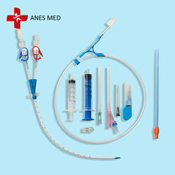 ANES MED Brand Double Lumen Hemodialysis Catheter Kit