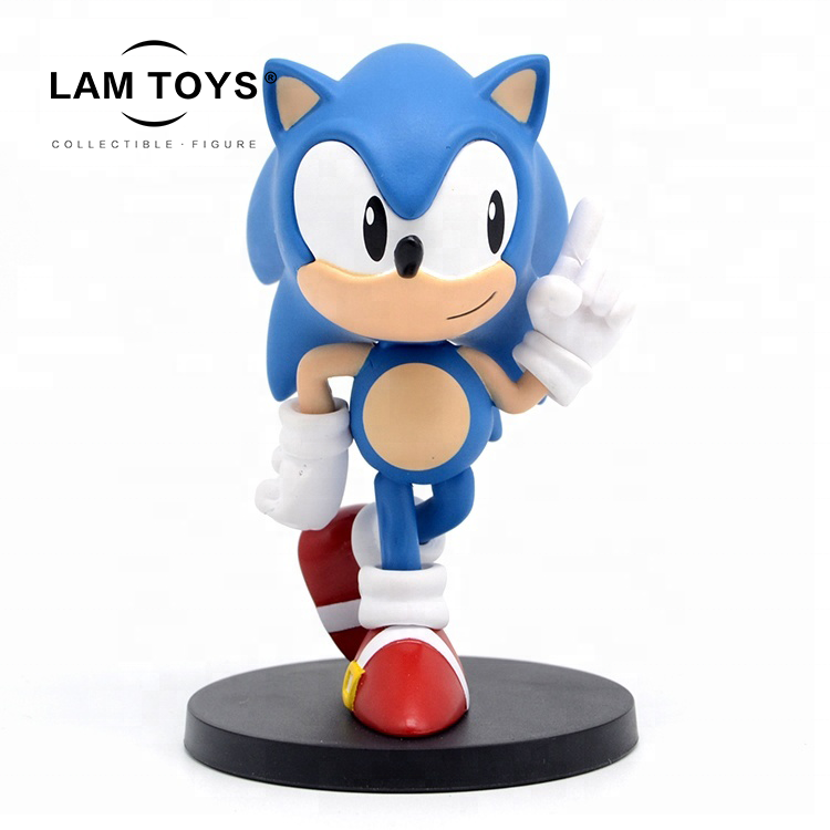 High Quality customized sonic jugete PVC Cartoon Figure