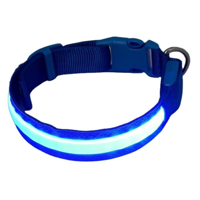Quick Release LED Lights Pet cat Dog Collar Leads safety harness Training Glow necklace flashing lighting up XS/S/M/L/XL For dog