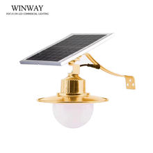 50W DC 5V LED solar yard emergency bulb remote control  with solar panel charge IP 65 for garden wall light