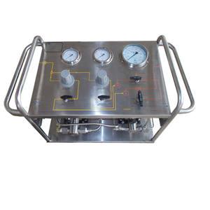 Tragbare Pneumatische Pumpe Hochdruck Hydraulische Prüfstand