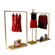 factory made metal boutique clothing rack