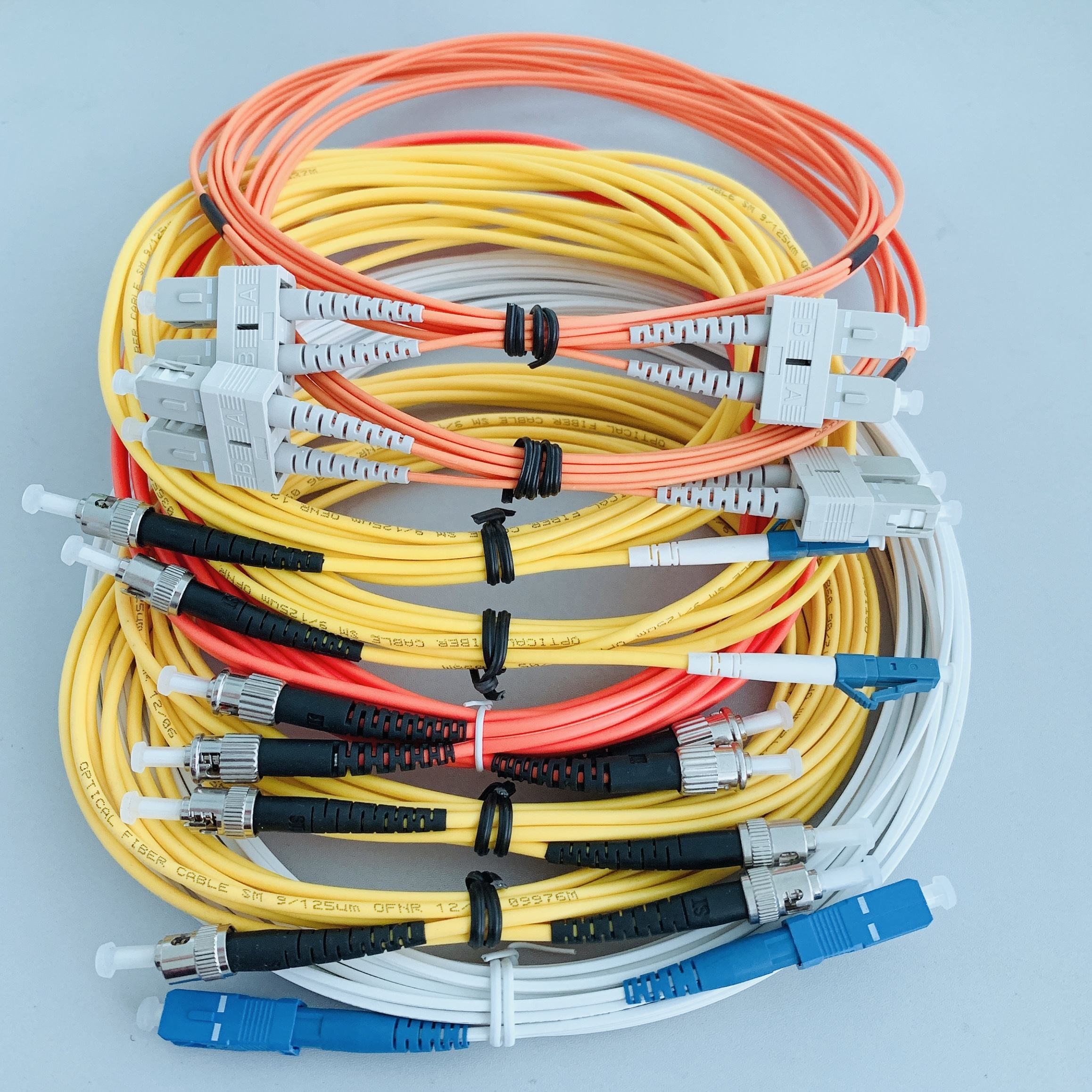 200M Outdoor Field Fiber Patch Cord  LC to LC  LC-LC SM  9//125  Duplex DHL Free