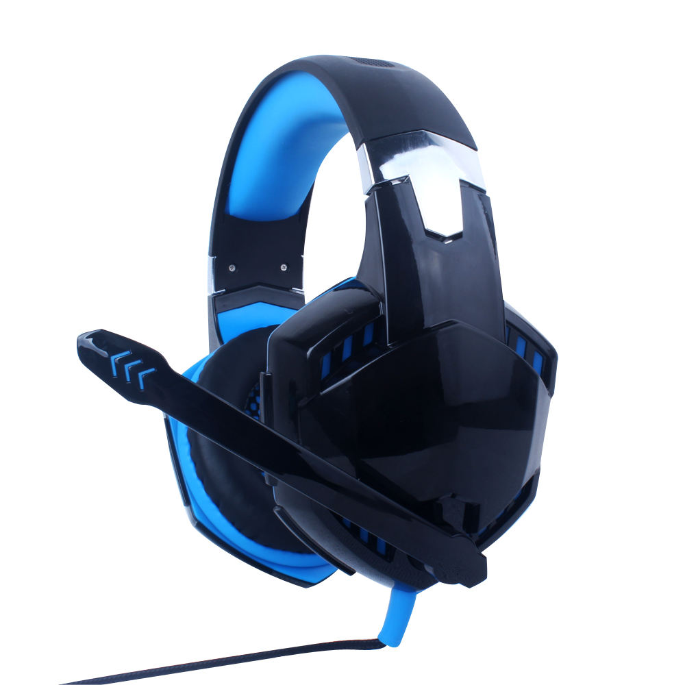 Hohe <span class=keywords><strong>Qualität</strong></span> Gaming Kopfhörer 3,5mm Stereo Spielen Spiel Computer-Headset mit LED Licht