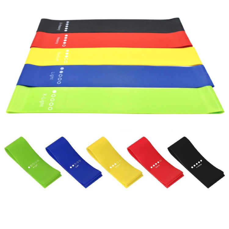 fitness marble booty yoga hip elastic long custom logo printed bungee resistance bands wholesale in china