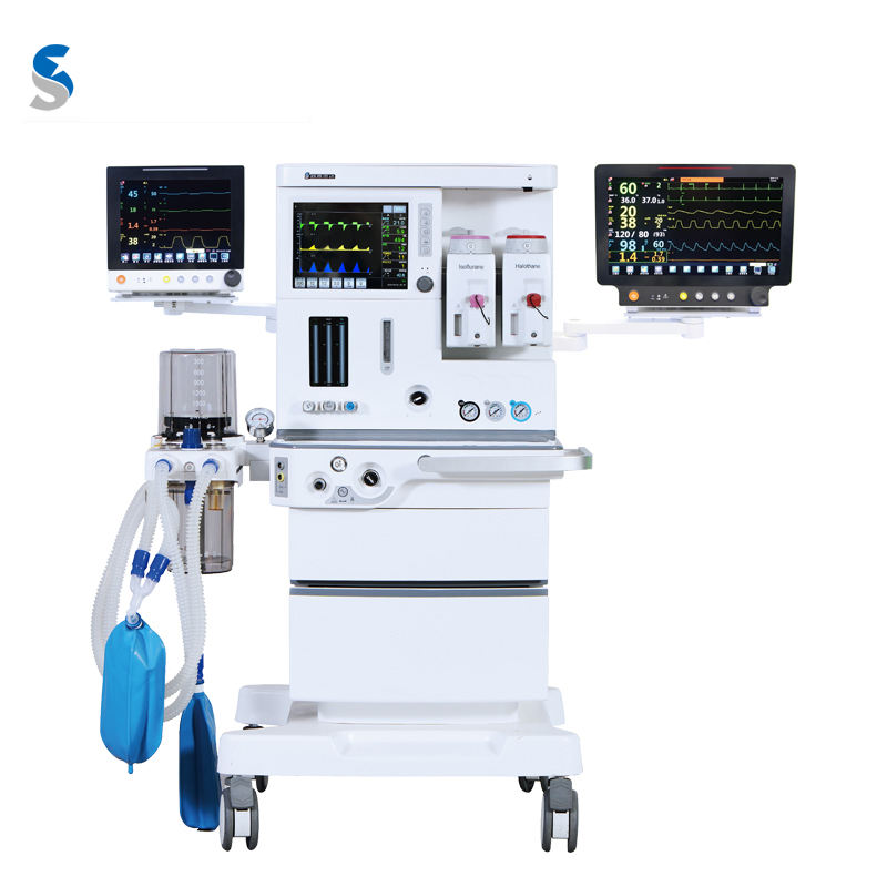 Anesthesia and Emergency Apparatus Anesthesia machine with Touch Screen