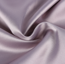 China Thick Silk 100% Polyester Plain Crepe Satin Fabric for Garments Dress