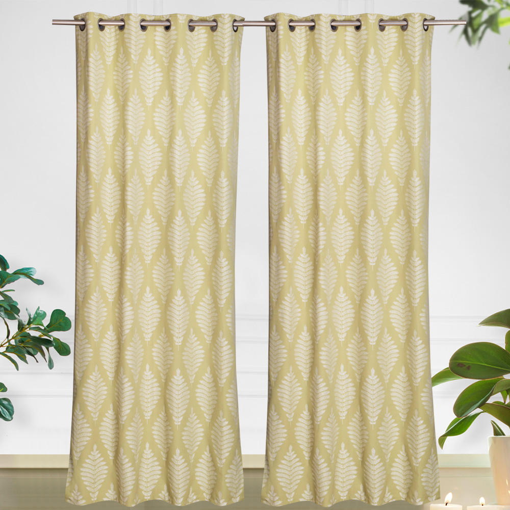 2020 New Design Living Room Home Window Cotton Curtain
