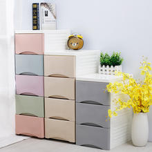Kitchen Multifunctional Cheap Plastic Drawer Crack storage cabinet with Wheels