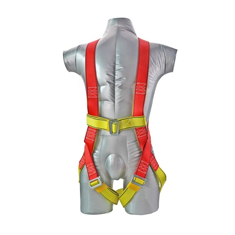 Body Safety Harness [ Full Body Safety Harness ] Safety Harness Top Quality Adjustable Full Body Safety Harness With Lanyarn