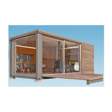 Europe antiseptic wood grain container house for living room/shop/office