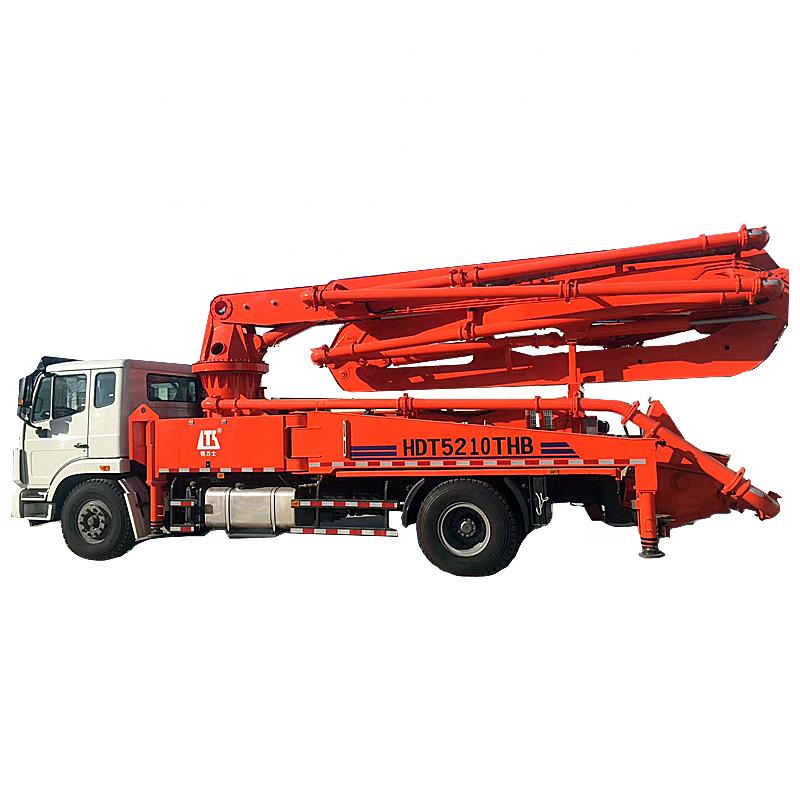 Xây dựng thiết bị 33m <span class=keywords><strong>đặt</strong></span> trên xe tải máy bơm bê tông