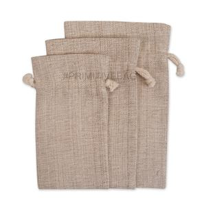 Wholesale Natural Nettle Drawstring Bag - Multipurpose Nettle Drawstring Pouch for Coffee, Dry Fruits, Jewelry, Gift Storage