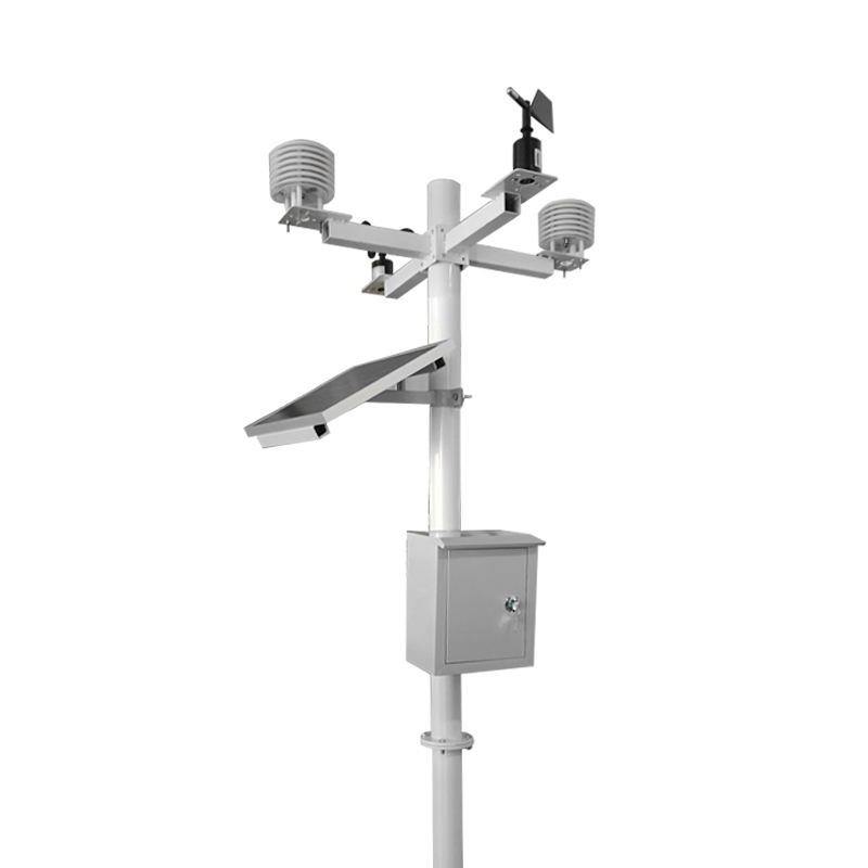 Ambient smart outdoor wireless weather station solar powered for rainfall Illuminance Ultraviolet rays measurement