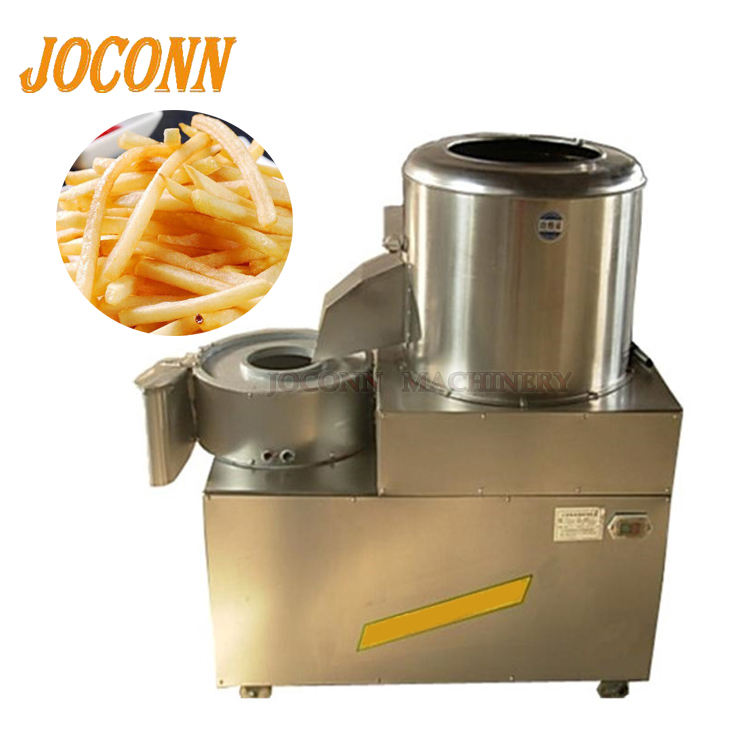 low price potato peeling and cutting machine/ potato chips cleaning peeling and cutting machine on hot sale