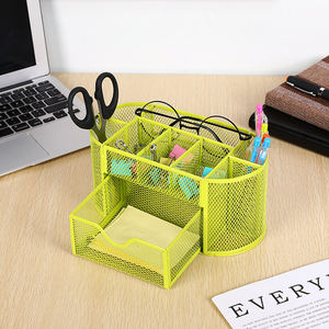 2020 acrylic office stationeary gift desk sets accessories organizer set with drawer