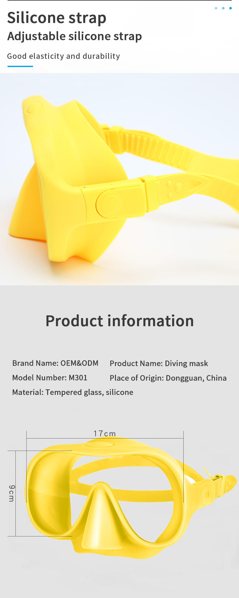 Wholesale Mini Commercial Frameless Swimming Antifog Mask Diving Snorkel Strap Diving Free Diving Mask Scuba Diving Equipment