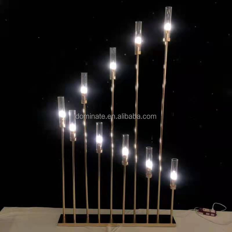 Nieuwe Bruiloft Props Starlight Road Lead Ijzeren Art Galvaniseren Wees Kraal Pull Staart <span class=keywords><strong>Lamp</strong></span> Warm Licht On-Site Decoratie levert
