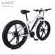 Electric Mountain Bike BMX for Men Lithium Battery Snowmobile 26 - inch Thick Tire Assist Mountain Bike Adult
