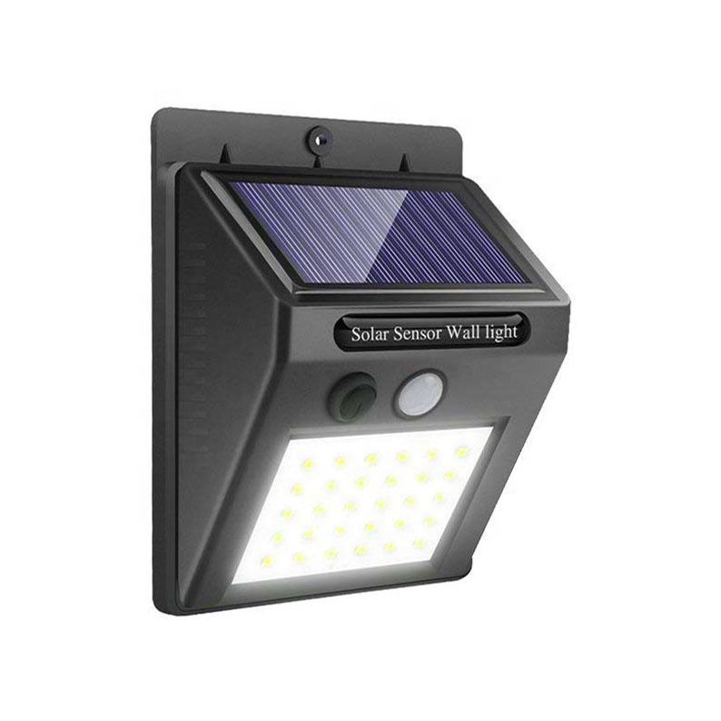 30 luces solares LED <span class=keywords><strong>Solar</strong></span> al aire libre Powered <span class=keywords><strong>luz</strong></span> de seguridad inalámbrico impermeable Sensor de movimiento al aire libre de la pared de la <span class=keywords><strong>luz</strong></span>