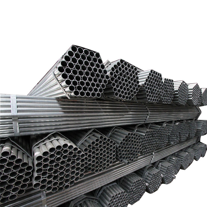 Galvanized steel pipe used to chain link fence