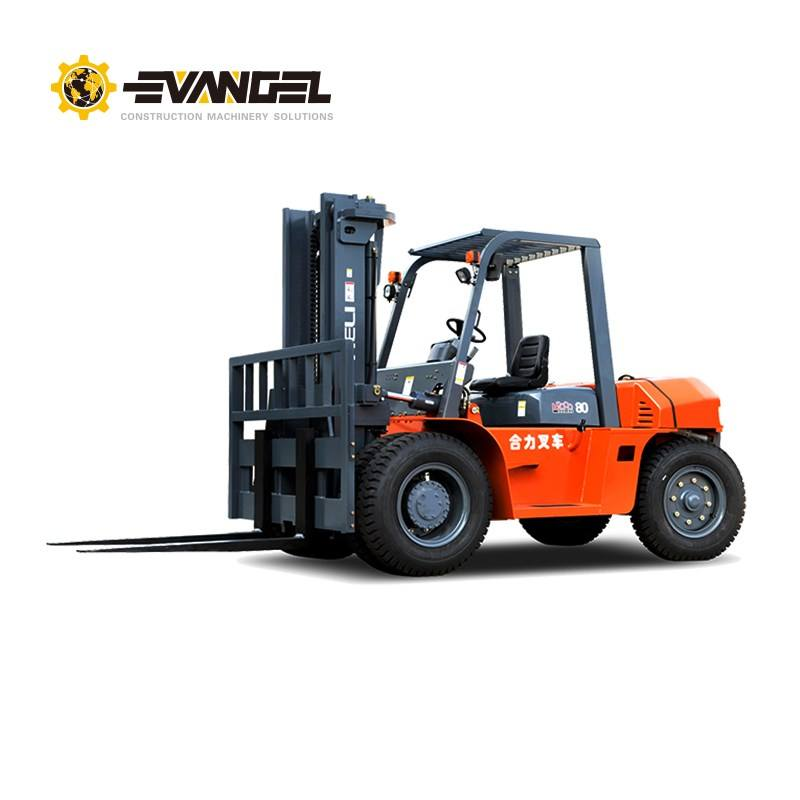 7 Ton HELI Diesel Manual Forklift CPCD70 with Forklift Charger