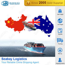 China sea freight shipping agent suppliers container shipping cost to australia SYDNEY/MELBOURNE/BRISBANE/ADELADIE from china