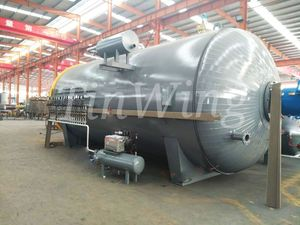 High quality Vulcanization Tank for rubber and tyre