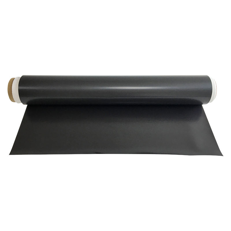 rubber magnet backed magnetic rubber sheet self-adhesive Flexible palin magnet sheet rolls