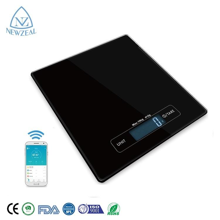 A buon mercato Bluetooth 10Kg 2G 5Kg 1g di Commercio <span class=keywords><strong>Estero</strong></span> Rettangolo <span class=keywords><strong>Cibo</strong></span> Digitale di Pesatura Bilancia Da Cucina Bilance