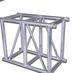 Cheap Portable Audio Box Aluminum Truss DJ Truss for Sale Product Name and 50*3mm Main tube DJ truss