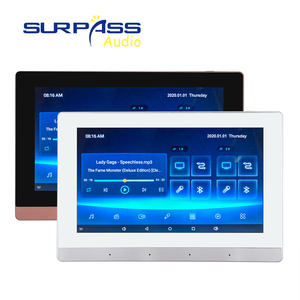 7inch Display Touch Screen Panel Wall Mini Amplifier, Home Cinema Theater System Blue-tooth WIFI Smart Android Wall Amplifier