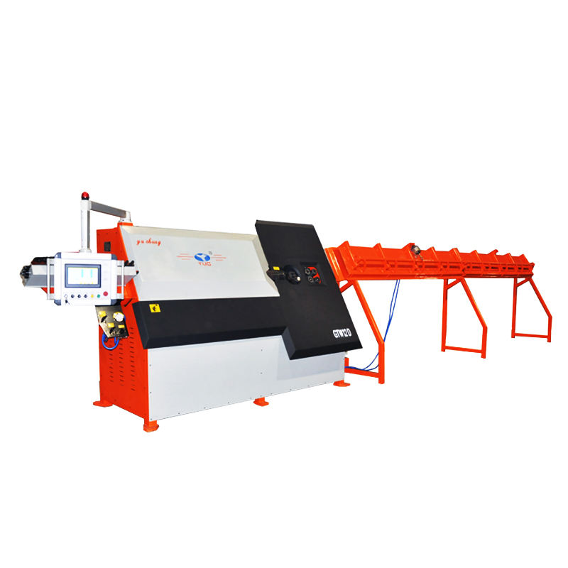 CNC Automatic bender machine for rebar , thread bar ,Steel bar stirrup, Straightening, bending, cutting