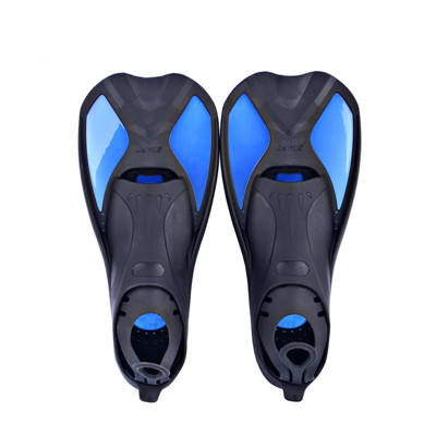 Wholesale Black Swimming Foot Flipper Diving Accessories Training Flippers For Children Unisex