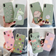 Stock all phone model ultra slim phone cover case tpu cute cartoon pattern for iphone