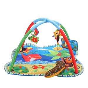 Wholesale kids play mat polyester play mat for babies Crawling Activity Gym
