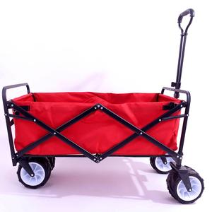 Multifunction collapsible outdoor portable foldable wagon hand cart trolley