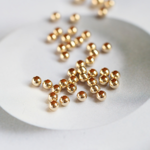 Professional Wholesale 14K Gold Filled Positioning Beads For Professional Jewelry Making