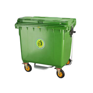 1100liter Large plastic garbage bin container box