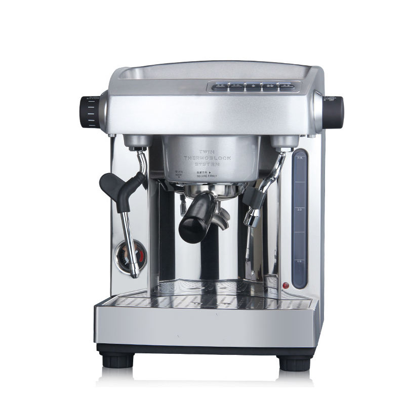 Hot Sale Profesional 15bar Double Pump <span class=keywords><strong>Espresso</strong></span> Mesin Kopi untuk Cafe