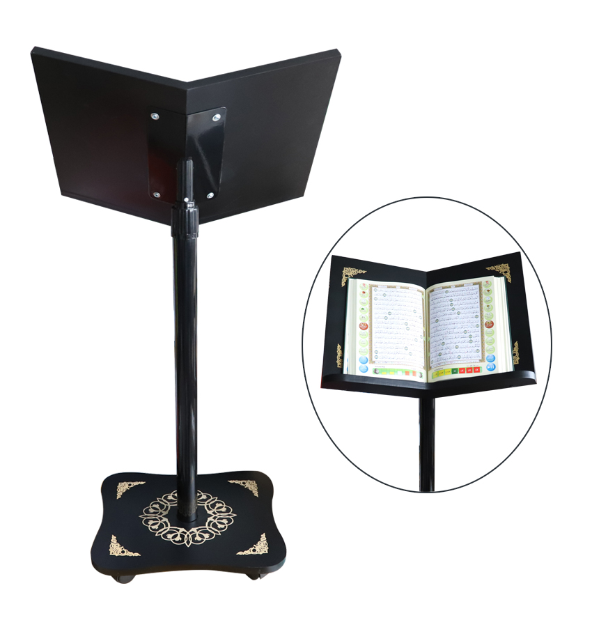 Quran Book Stand Reading Stand Adjustable Wooden Bible Holder Quran stand