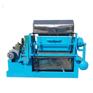 2000 pcs per hour dry the egg tray by sunny egg crate making machine