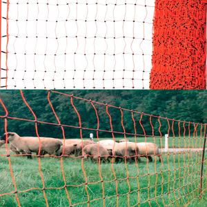 Electric Poultry PVC Coated Wire Mesh Holland Euro Fence For Cattle Goat Cow Large Animal Farm